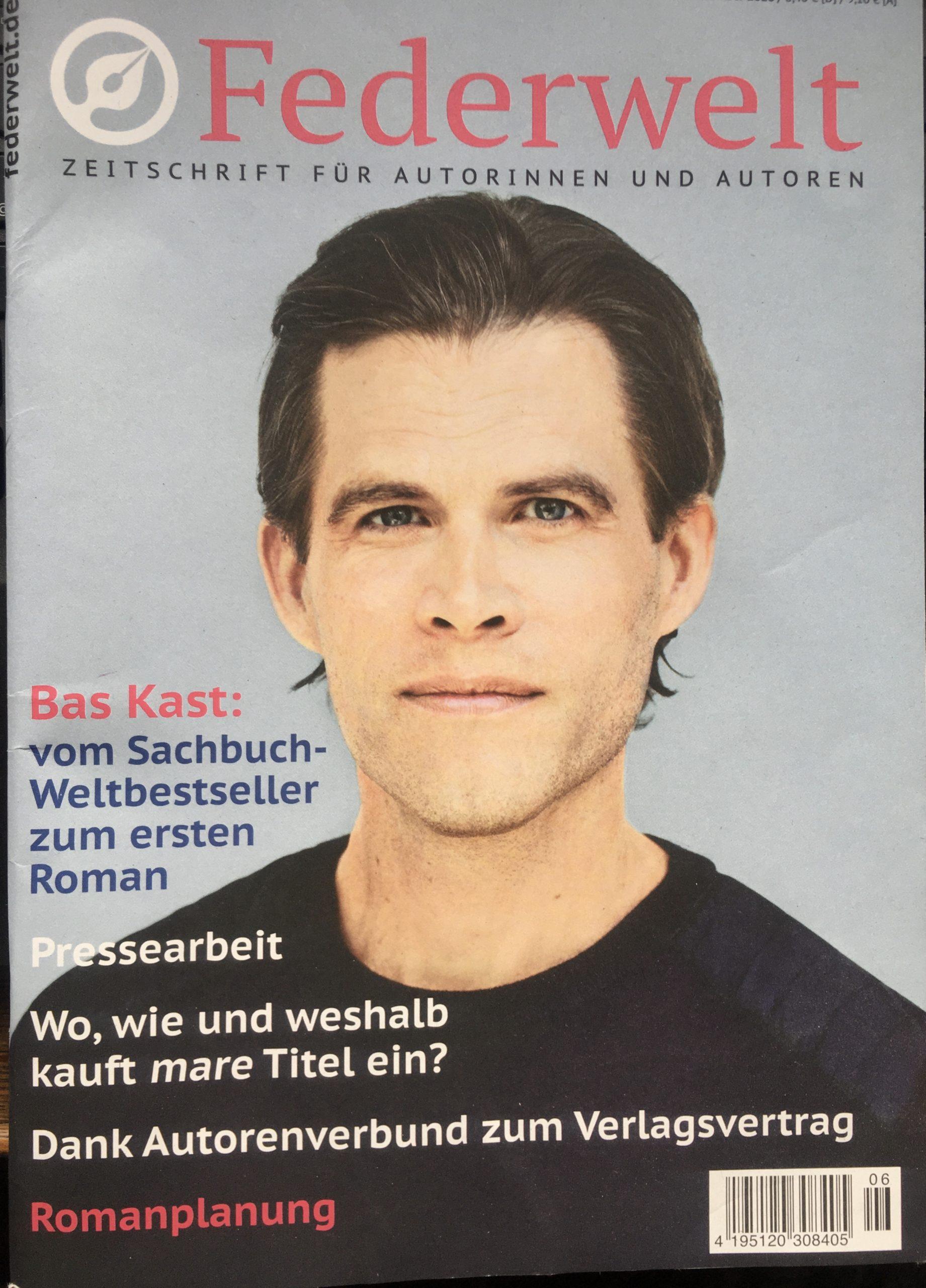 Cover Federwelt Zeitschrift für Autorinnen und Autoren